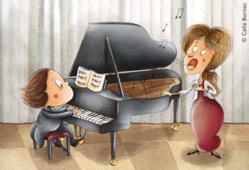 piano dessin