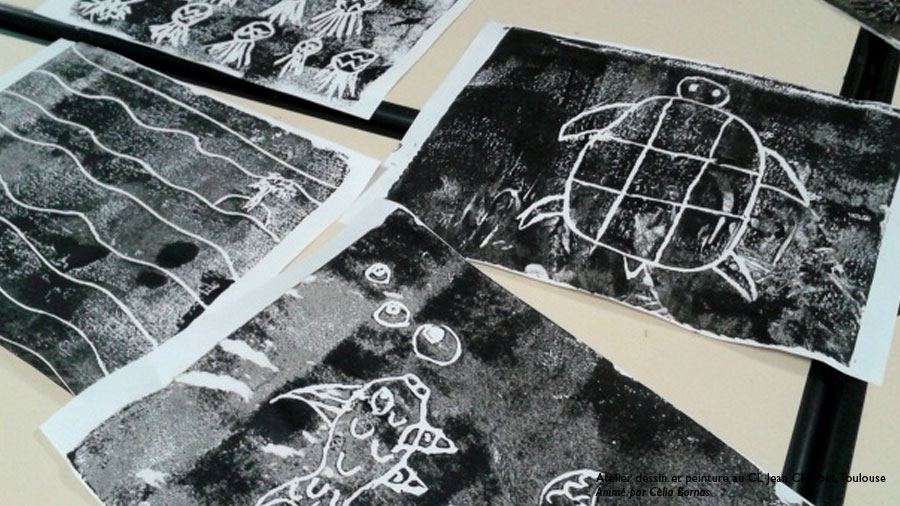 gravure enfant polystyrene