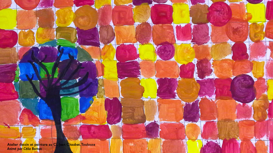 Atelier Pour Enfants Couleurs Chaudes Et Couleurs Froides Illustration Toulouse