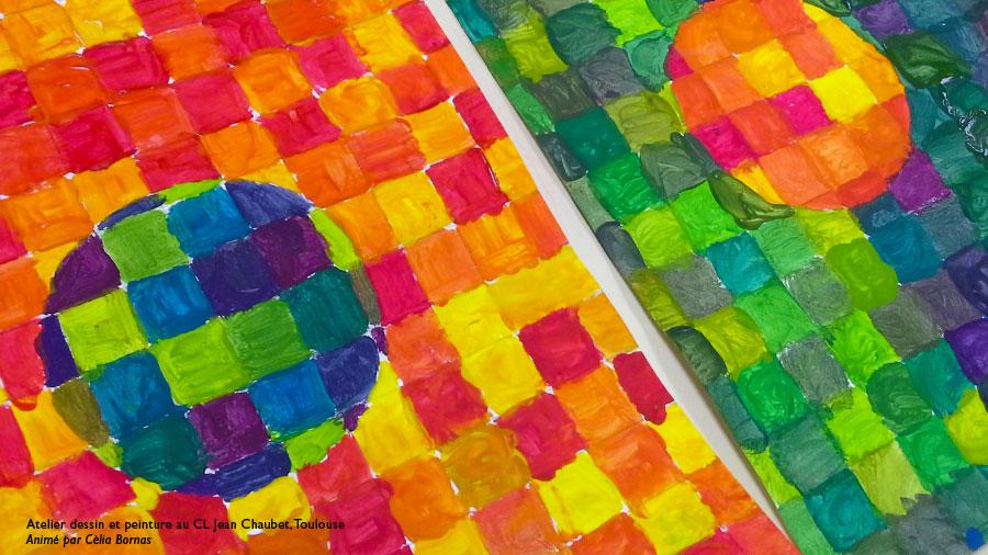 Atelier dessin et peinture enfants Toulouse : couleurs ...